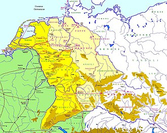 Tiberius - The campaigns of Tiberius, Ahenobarbus, and Saturninus in Germania between 6 BC and 1 BC.