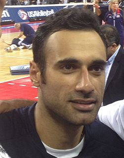 Adel Gholami Iranian volleyball player