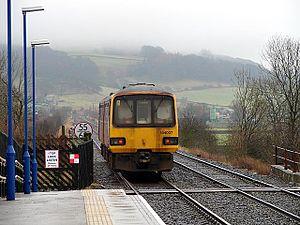 Giggleswick railway station - Image: Giggleswick railway station 06