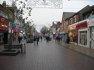 Gillingham, Kent - Image: Gillingham High Street (2) geograph.org.uk 639121