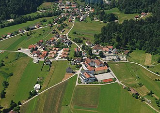 Želimlje - Aerial view of Želimlje