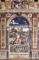 Giovanni Maria Falconetto, Mantua, Palazzo d'Arco, Sala dello Zodiaco, Sign of Cancer.jpg