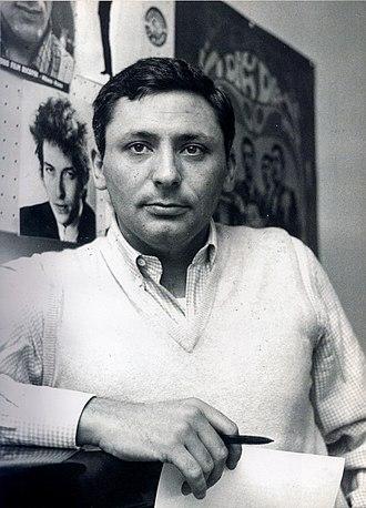 29 settembre - Mogol, author of lyrics, in a 1968 photograph