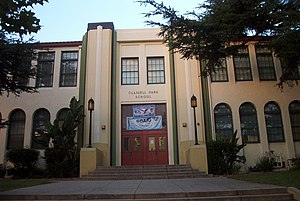 Glassell Park, Los Angeles - NRHP listed Glassell Park Elementary School.