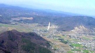 (video) A glider sails over Gunma, Japan