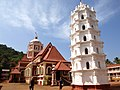 Goa, India. A lamp-tower of a temple in Goa.jpg