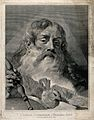 God the Father with the Holy Ghost. Line engraving by G.M. P Wellcome V0034037.jpg
