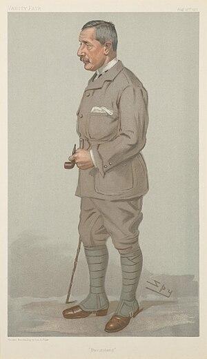 "Godfrey Yeatman Lagden - Caricature of Sir Godfrey Yeatman Lagden by ""Spy"" (Leslie Ward), in Vanity Fair, 22 August 1901"