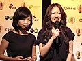 Golden Bell Awards Weiling Chen and Ivy Yin 20081101.jpg