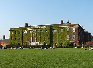 Royal Naval School - John Shaw's building at New Cross, now part of Goldsmiths College