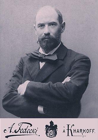 Konstanty Gorski - Photograph by Alfred Fedecki