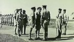 Governor Wilson visits RAAF 3 Initial Training School Kingaroy QLD May 1943 AWM P00048.064.jpg