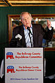 Governor of Virginia Jim Gilmore at Belknap County Republican LINCOLN DAY FIRST-IN-THE-NATION PRESIDENTIAL SUNSET DINNER CRUISE, Weirs Beach, New Hampshire May 2015 by Michael Vadon 02.jpg