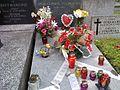 Grób Anny German – Tucholskiej (1936 – 1982), Cmentarz Augsbursko – Reformowany w Warszawie (ulica Żytnia).jpg
