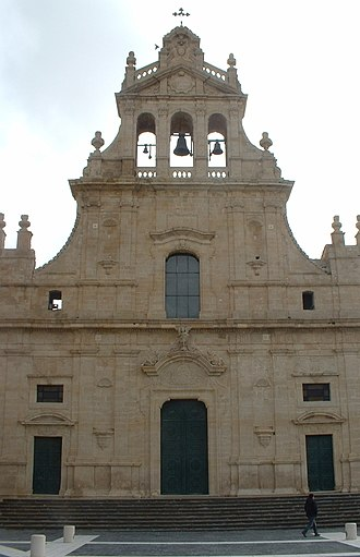 Grammichele - Image: Grammichele Chiesa Madre