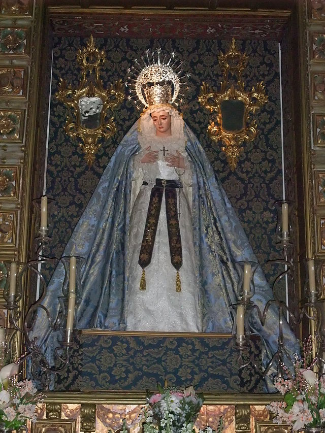 Granada-Iglesia de San Pedro-3-María de las Maravillas (Pedro de Mena, siglo XVII).JPG