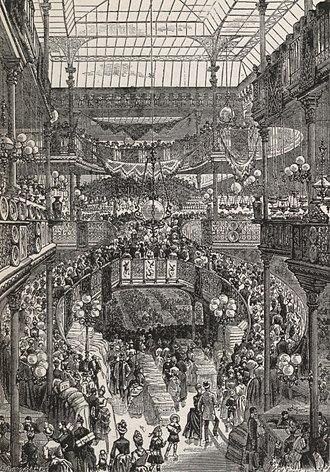 Aristide Boucicaut - Grand central staircase of Le Bon Marché (1892)