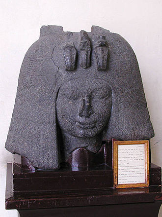 Amarna Period - Image: Granite head of queen Tiye