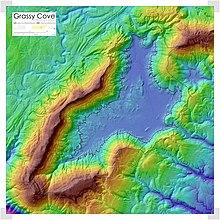 Tn Elevation Map.Grassy Cove Wikipedia