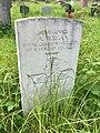 Gravestone of Gunner A. Morgan at Groeswen Welsh Congregational Chapelyard, July 2020.jpg