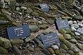 Gravestones in Cullen Pet Cemetery - geograph.org.uk - 684856.jpg