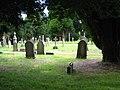 Gravestones in Penrith Cemetery - geograph.org.uk - 2458340.jpg