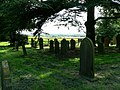 Graveyard of Holme on Spalding Moor Parish Church - geograph.org.uk - 174965.jpg
