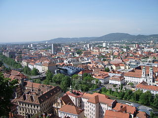 Photo of the city of Graz, Austria