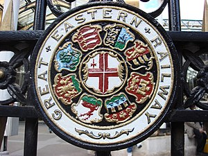 Great Eastern Railway - Image: Great Eastern Railway Shield