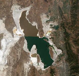 Great Salt Lake Salt lake in Utah, United States