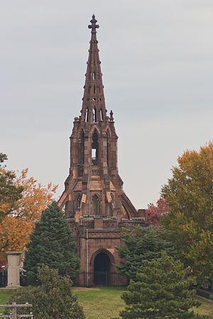 John Rudolph Niernsee - Green Mount Cemetery Chapel