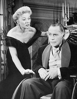 The Little Foxes - Greer Garson and Franchot Tone in the 1956 Hallmark Hall of Fame TV adaptation of The Little Foxes