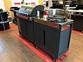Grill gazowy Quisson 4000 Barbecook z szafką z grillem węglowym Optima.jpg