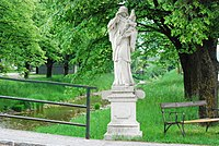GuentherZ 2011-05-20 0018 Hainfeld Statue Johannes Nepomuk.jpg