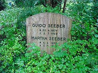 Guido Seeber - Grave of Guido Seeber in Friedhof Heerstraße, Berlin-Westend
