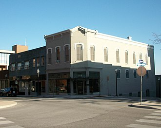 Fayetteville Historic Square - Image: Guisinger Building
