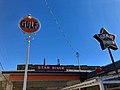 Gulf Sign and Star Diner Sign, Marshall, NC (46636524522).jpg