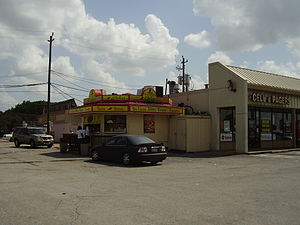 Gulfton, Houston - A shopping center in Gulfton