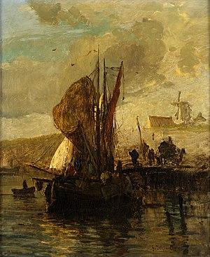 Gustav Schönleber - Image: Gustav Schönleber Fischereihafen