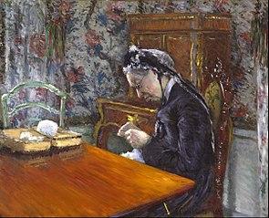 Mademoiselle Boissière Knitting