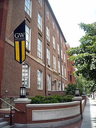 George Washington University Law School - Stockton Hall.