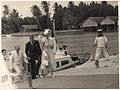 H.M. Queen Elizabeth and Prince Philip at the Cocos Islands, April 1954.jpg