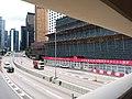 HK 中環 Central 天橋 footbridge 夏慤道 Harcourt Road August nearby 怡和大廈 Hutchison House August 2019 SSG 14.jpg