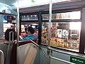HK 中環 Central 畢打街 Pedder Street night 德輔道中 Des Voeux Road 香港電車 154 Tram upper deck interior October 2018 SSG 03.jpg