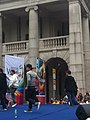 HK 中環 Central 遮打道 Chater Road 香港 前立法會大樓 former Legco Building Sunday morning 菲律賓男生 Filipino dancers Jan-2012 Ip4 06.jpg