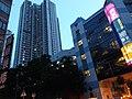 HK 西灣河 Sai Wan Ho night 成安街 Shing On Street 興東邨 Hing Tung Estate facades July 2019 SSG 02.jpg