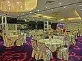 HK Jordan 港景峰 Victoria Tower mall night 煌府酒家 Palace Restaurant hall interior Apr-2013.JPG