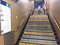 HK SW 上環站 Sheung Wan 港鐵 MTR Station interior staircase August 2019 SSG 01.jpg