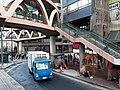 HK tram 64 view CWB 銅鑼灣 Causeway Bay 怡和街 Yee Wo Street ring shape footbridge November 2019 SS2 01.jpg