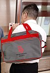 HK visitor MTR bag Dragon Airline red May 2018 GMl.jpg